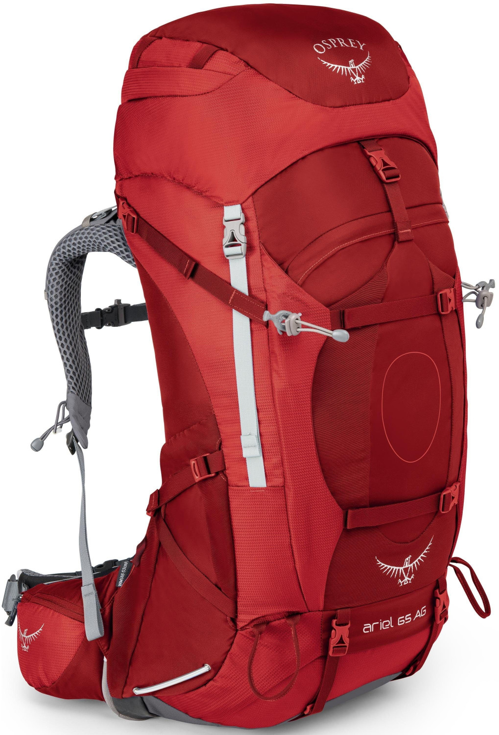 Osprey Ariel AG 65 S picante red