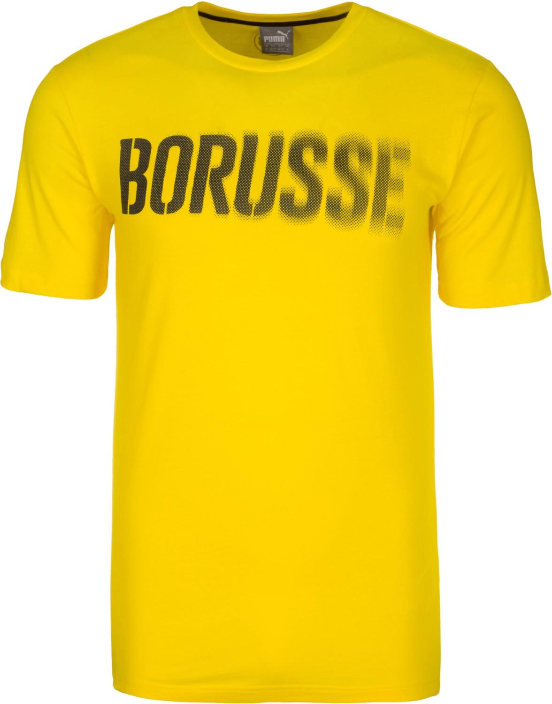 Puma BVB T-Shirt Borusse cyber yellow/puma black