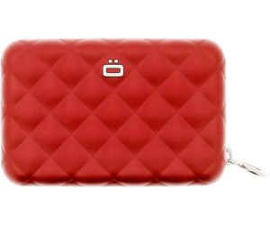 Ögon Designs Quilted Zipper red