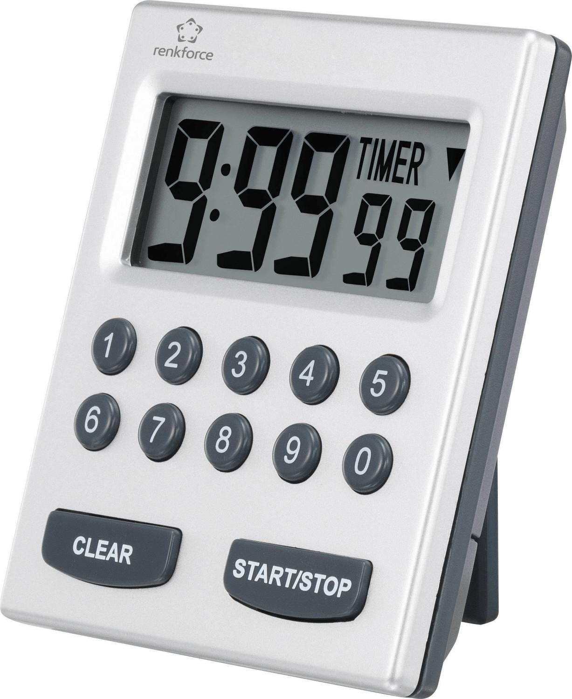 Renkforce Timer 9902 Silber
