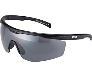 uvex Sportstyle 117 Sportbrille black mat one size 9Zc4I