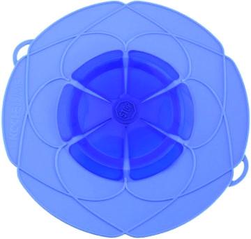 Kochblume Kochblume groß Ø 33 cm blau