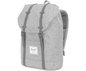 459a49bfe903 Buy Herschel Retreat Backpack raven crosshatch black rubber (01132 ...
