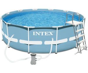 Intex Pools Prism Frame 366 X 122 Cm 28726 Au Meilleur Prix Sur