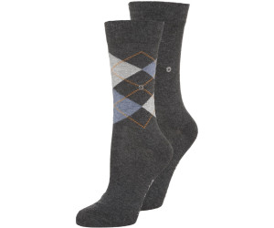 Burlington Women's socks Everyday Argyle anthrazit (22044-3081)