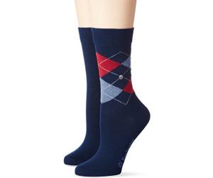 Burlington Women's socks Everyday Argyle marine (22044-6120)