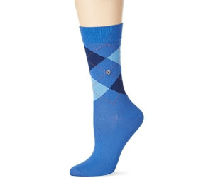 Burlington Women's socks Covent Garden blue/ocean-fuego (22188-6553)