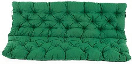 Ambientehome Hanko 3er Sitz- und Rückenkissen grün