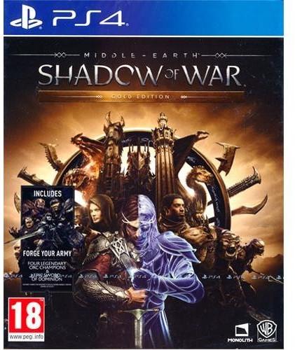 La Tierra Media: Sombras de Guerra - Gold Edition (PS4)