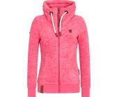 naketano sweatshirt jacke damen pink