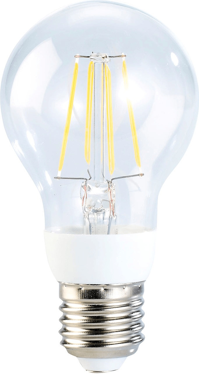 Luminea LED-Filament-Birne, 4 Watt, E27, 5000 K...