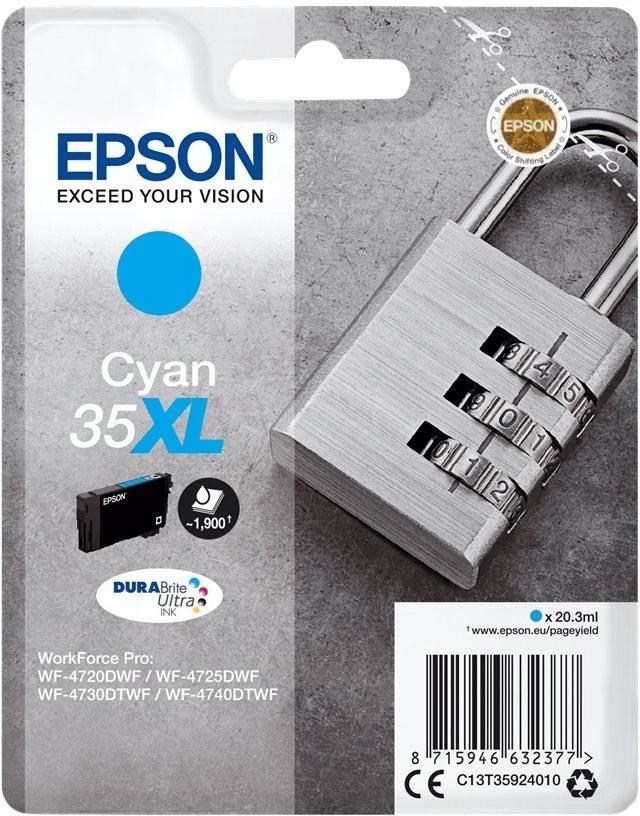 Epson 35XL cyan (C13T35924010)