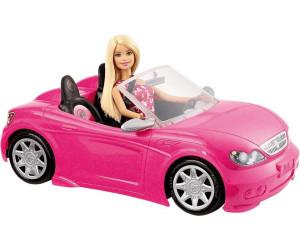Barbie Glam Cabrio Und Puppe (DJR55)