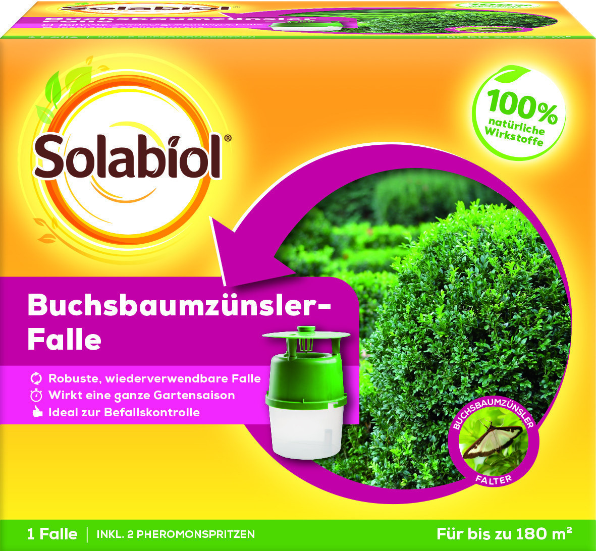 Solabiol Buchsbaumzünslerfalle 1Stk