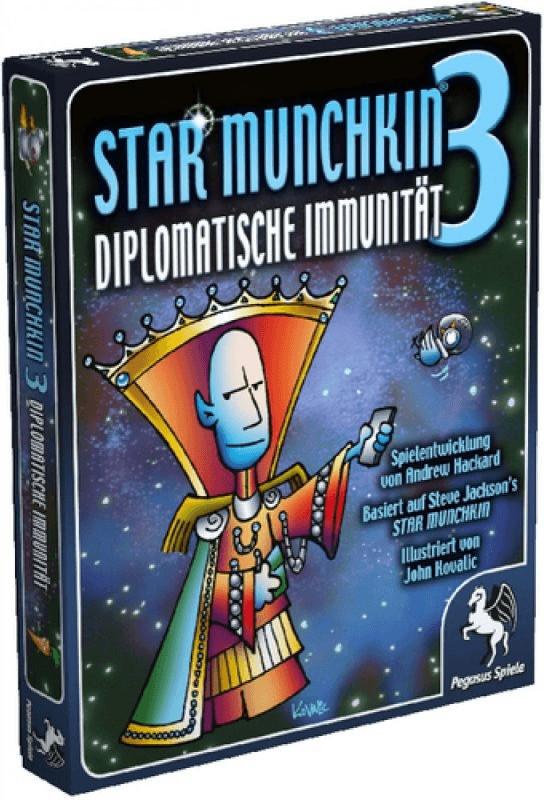 Pegasus Star Munchkin 3 : Diplomatische Immunität