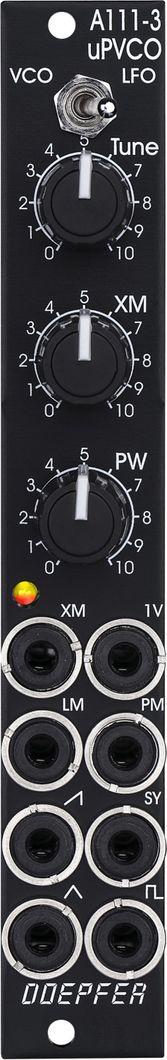 Image of Doepfer A-111-3 Micro Precision VCO