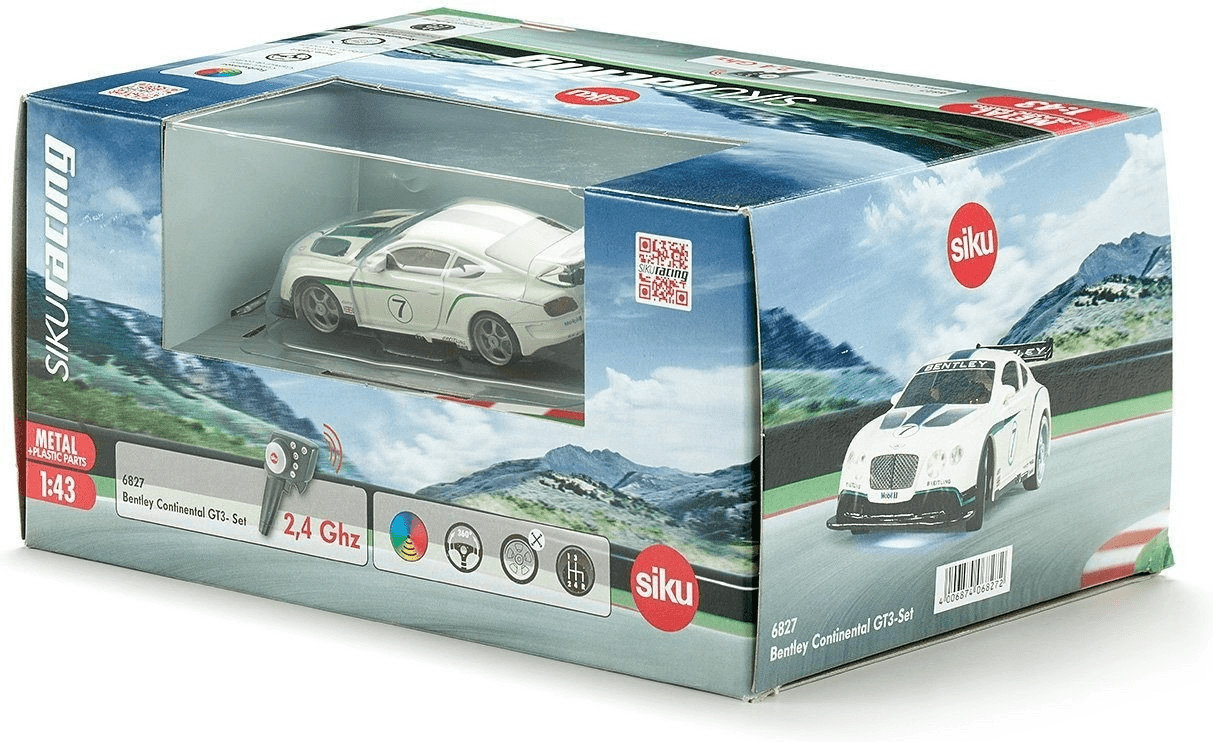 Siku Bentley Continental GT3-Set (6827)