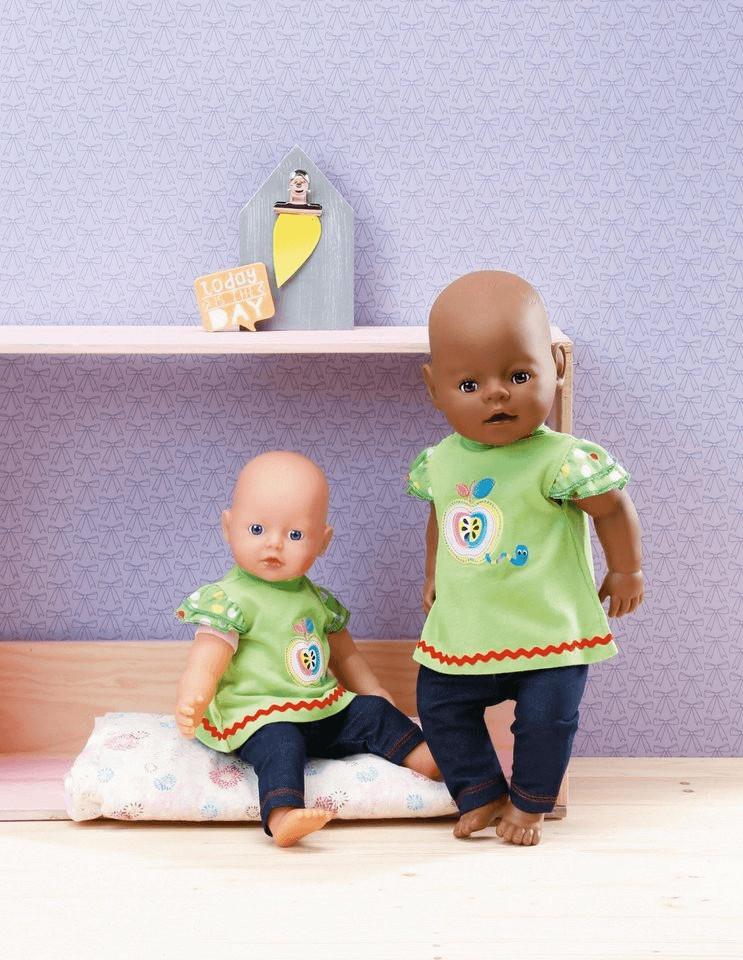 Zapf Creation Dolly Moda Shirt mit Leggins 30-36cm (870112)
