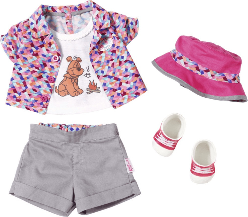 Baby Born Play&Fun Camping Outfit (823767)
