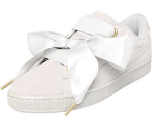 Puma - Damen - Suede Heart Satin Wn's - Sneaker - grau V8Q0H
