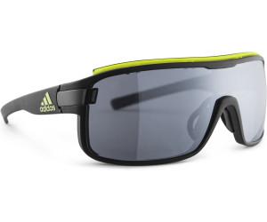 adidas Zonyk Pro Chrome Sonnenbrille (verspiegelte Gläser) - Sonnenbrillen - Performance Matte Coal One Size 0U5KGrNT