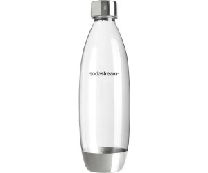 sodastream pet flasche mit edelstahl source 1l ab 11 93 preisvergleich bei. Black Bedroom Furniture Sets. Home Design Ideas