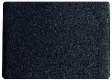 ASA Tischset Kunstleder schwarz 33 x 46 cm