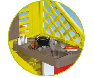 smoby natur haus mit sommerk che ab 143 94. Black Bedroom Furniture Sets. Home Design Ideas