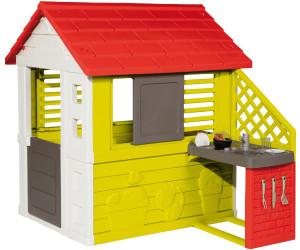 smoby maison nature au meilleur prix sur. Black Bedroom Furniture Sets. Home Design Ideas