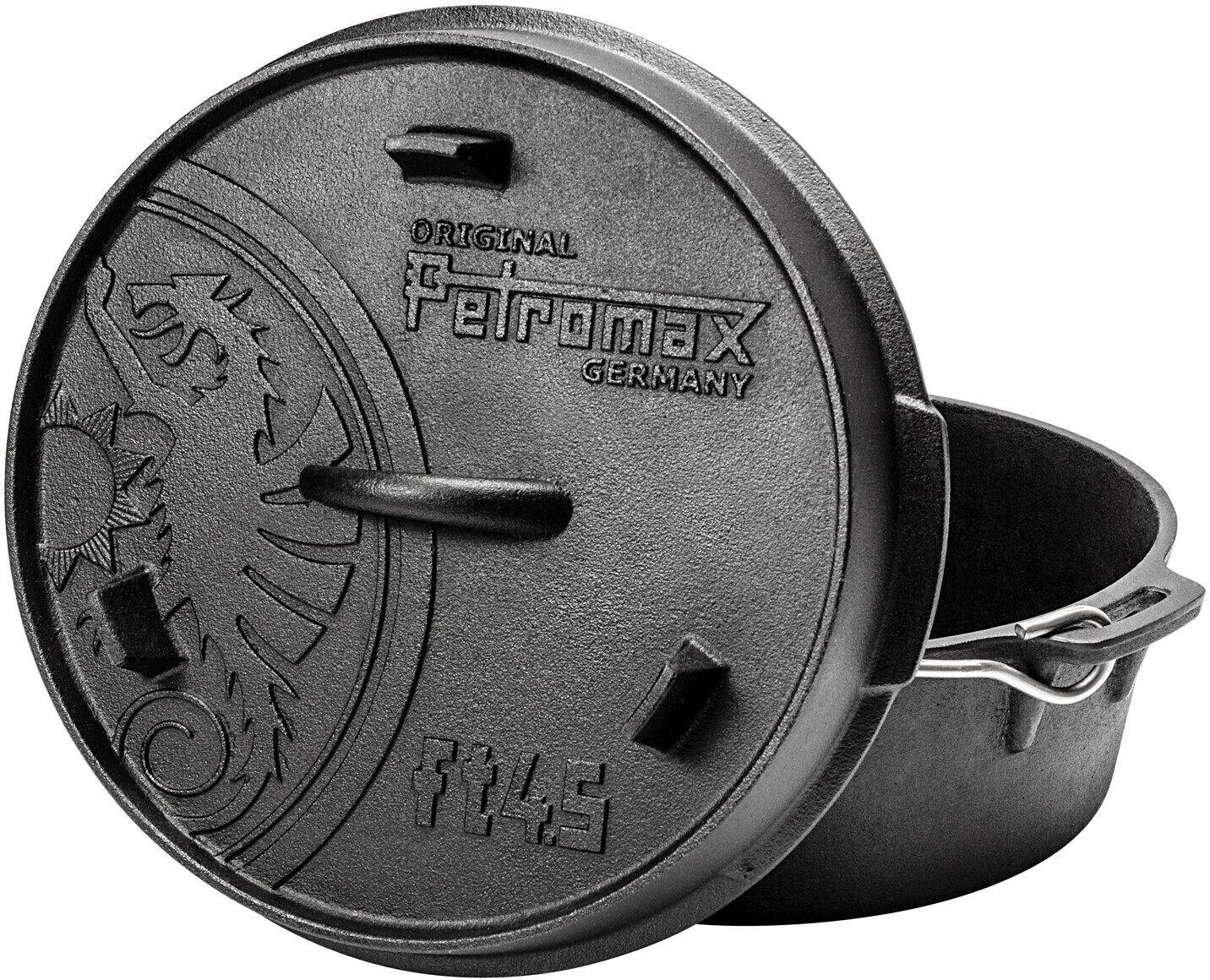 Petromax Feuertopf ft4,5 (ohne Füße)