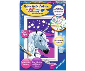 Ravensburger Malen Nach Zahlen Einhorn Ab 5 01 Preisvergleich Bei Idealo De