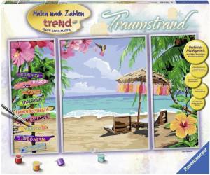 Ravensburger Malen Nach Zahlen Trend Traumstrand Ab 2100