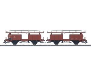 beladen Märklin 46132 Autotransportwagen-Doppeleinheit Off 59 der DB