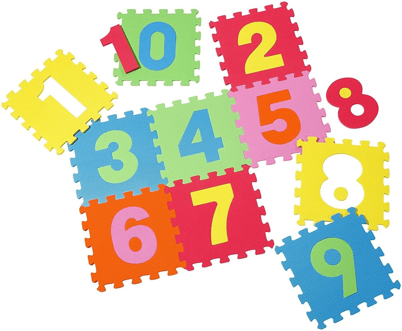 Knorrtoys Puzzlematte Zahlen 10 tlg.