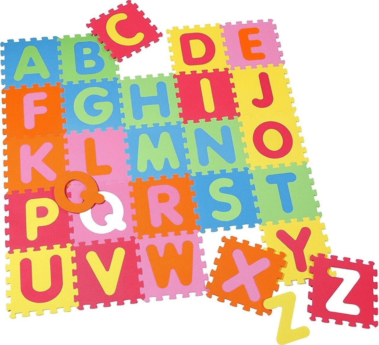Knorrtoys Puzzlematte Alphabet 26 tlg.