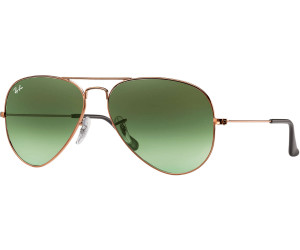 1650b890b Ray-Ban Aviator Metal RB3025 9002A6 (bronze-copper/green gradient) a ...