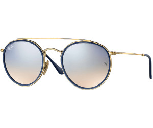 78611e9546d3c4 Ray-Ban Round Double Bridge RB3647N 001 9U (gold silver gradient flash)