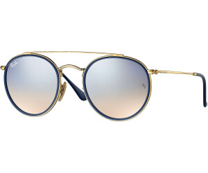 1e0c0907bb0156 Buy Ray-Ban Round Double Bridge RB3647N from £88.89 – Best Deals on ...