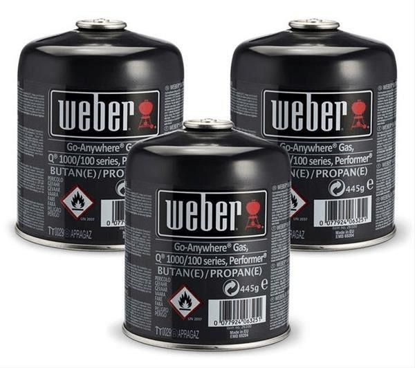 Weber Gas-Kartusche (3er-Pack)