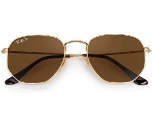 987bf399a00 Buy Ray-Ban Hexagonal Flat Lenses RB3548N 001 57 (gold polarized ...