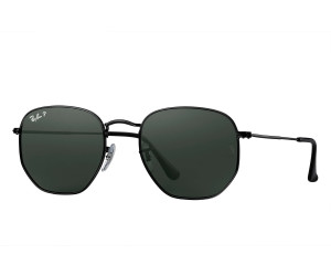 55e26f154f Buy Ray-Ban Hexagonal Flat Lenses RB3548N 002 58 (black polarized ...