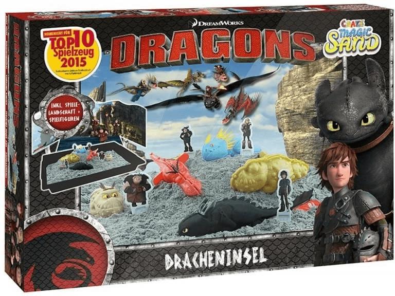 Craze Magic Sand Dragons Set