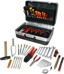 Famex Elektriker-Werkzeugkoffer 68-tlg