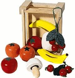 Pinolino Kiste mit Obst (221403)