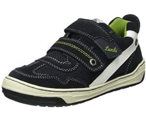 Lurchi Schuhe Halbschuhe Leder Sneaker, Gr. 23 blau neon