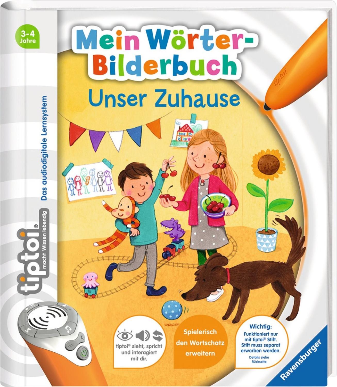 Ravensburger tiptoi Mein Wörter-Bilderbuch - Unser Zuhause