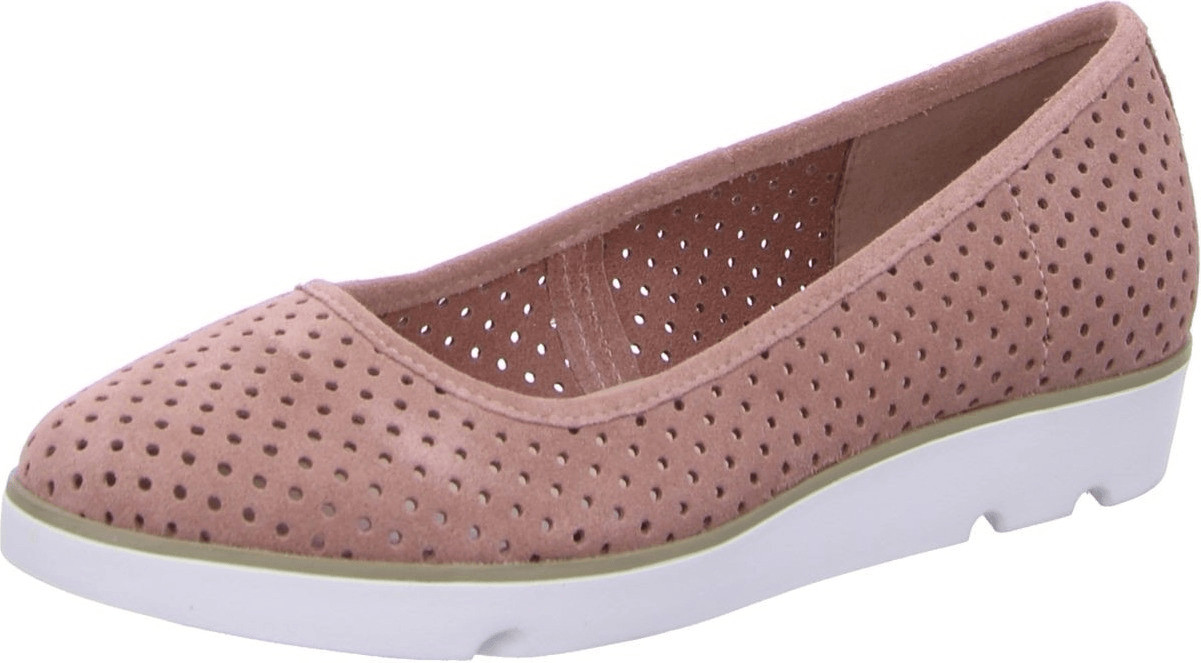 Clarks Evie Buzz dusty pink