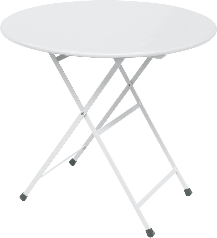 Emu Arc en Ciel Tisch rund 80cm weiß (346-23)