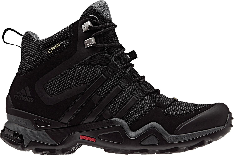 Image of Adidas Terrex Fast X High GTX W dark grey/core black/ vista grey