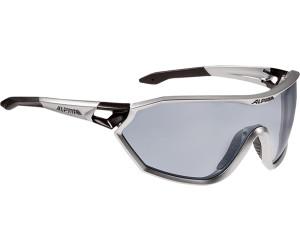 Alpina Fahrradbrille Sportbrille Sonnenbrille ALPINA S-WAY VL+ black matt AVnvzwR7G